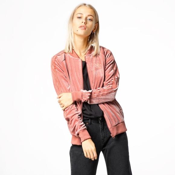 2df172f9fb47 adidas Jackets   Blazers - Adidas Originals Velvet Vibes Track Jacket